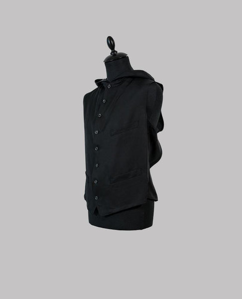 Backless Hooded Waistcoat - Allotment Store