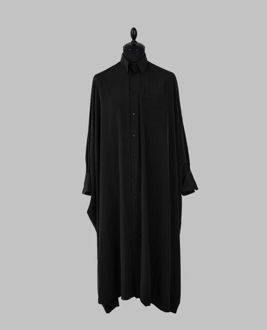 Y-3 Black Classic Long Shirt with Zips