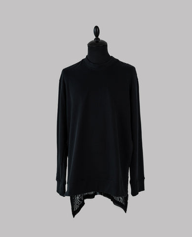 Velvet Back Sweatshirt