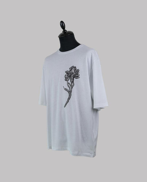 Graphic Flower Print T-Shirt