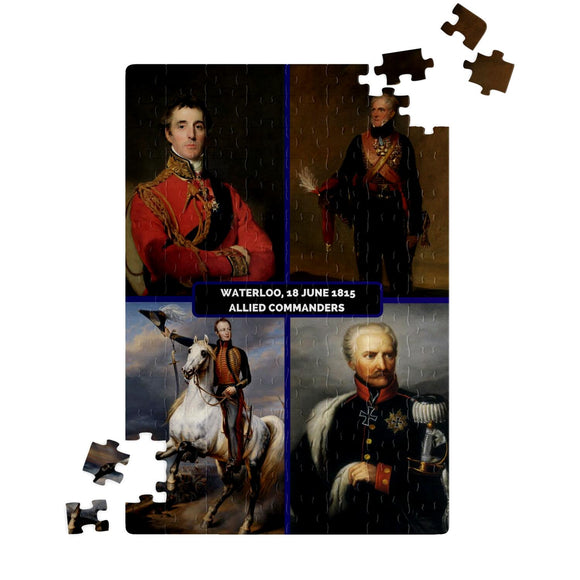 Allied commanders Battle of Waterloo Jigsaw Puzzle - Napoleonic Impressions