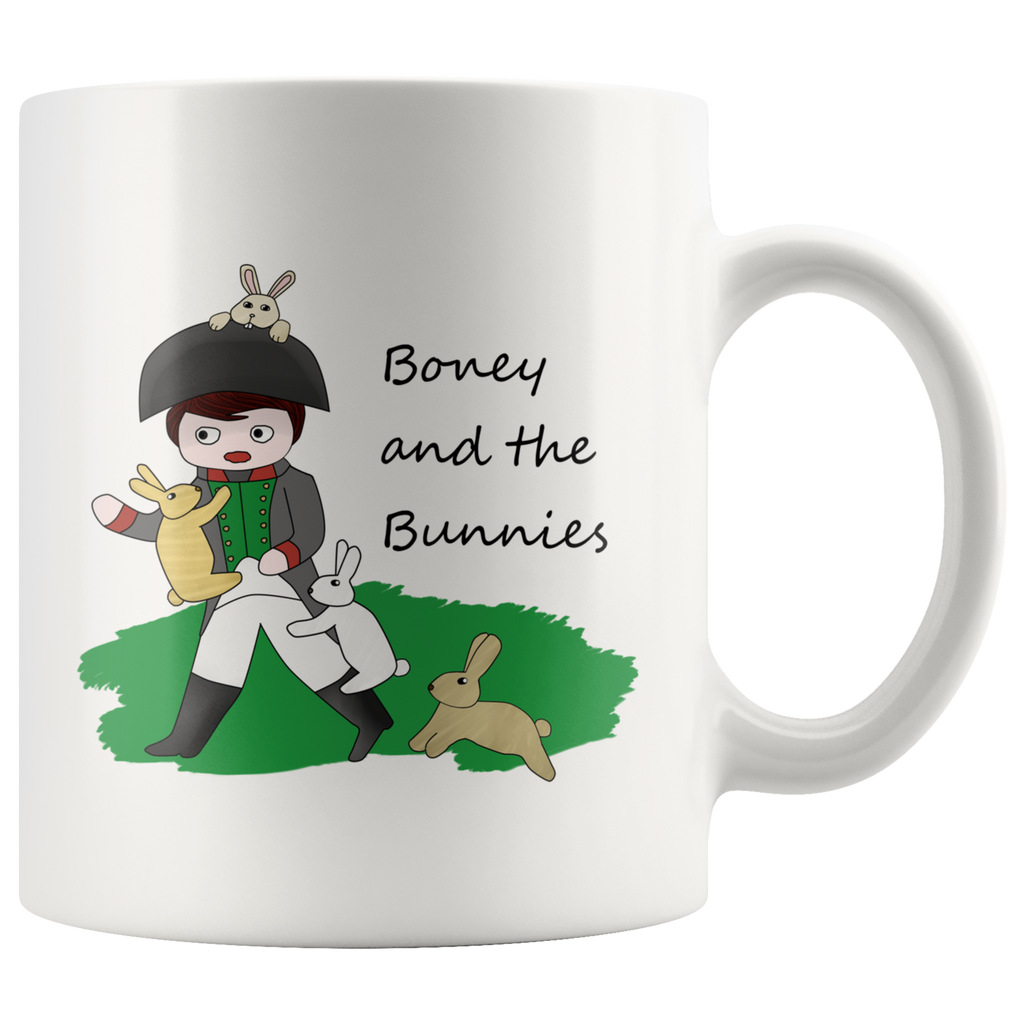 Boney and the Bunnies mug