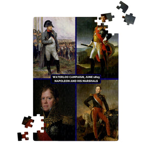 Napoleon and his Marshals: Waterloo Campaign Jigsaw Puzzle - Napoleonic Impressions