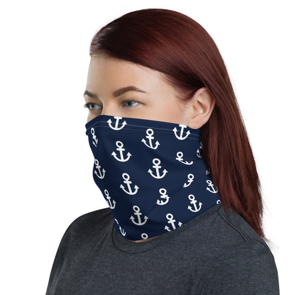 Anchor Pattern Neck Gaiter - Napoleonic Impressions