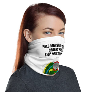 Field Marshal Catuzov Keep Your Distance Neck Gaiter - Napoleonic Impressions