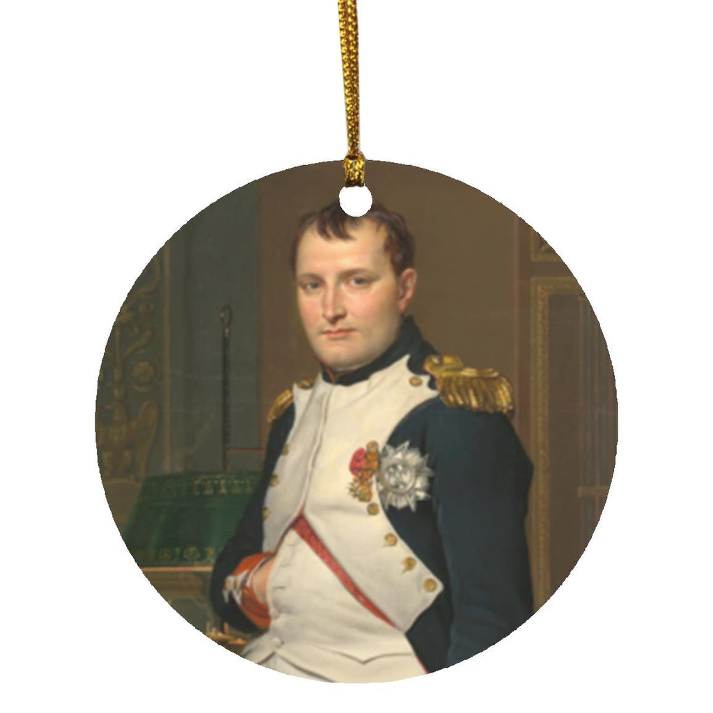 Napoleon in his Study Christmas Ornament - Napoleonic Impressions
