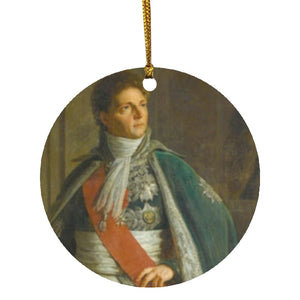 Marshal Berthier Christmas Ornament - Napoleonic Impressions