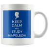Keep Calm and Study Napoleon Mug - Napoleonic Impressions