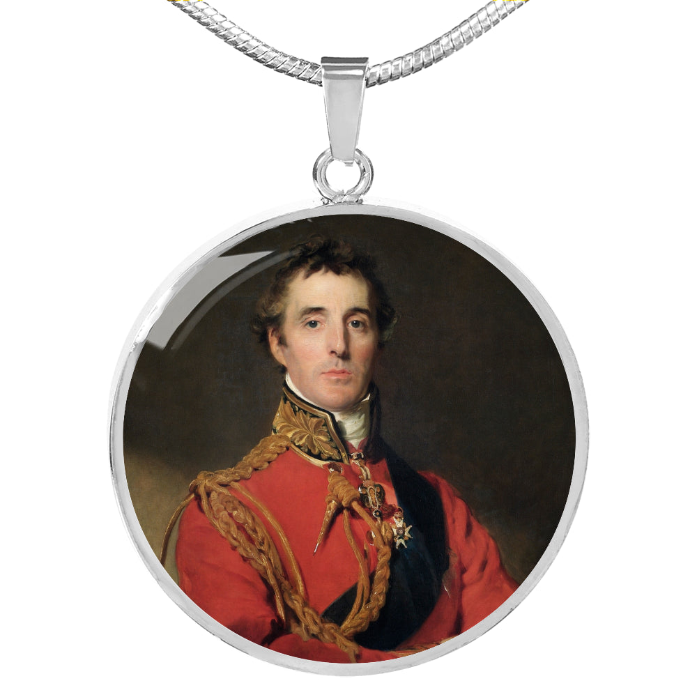 Duke of Wellington Circle Pendant - Napoleonic Impressions