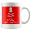 Keep Calm and Study Wellington Mug - Napoleonic Impressions