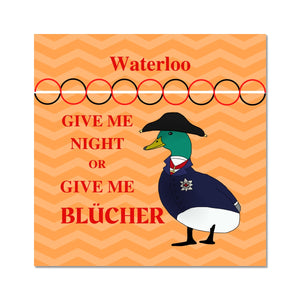 Duck of Wellington Waterloo Poster - Napoleonic Impressions