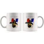 Penguin Bonaparte at the Bridge of Arcole Mug - Napoleonic Impressions