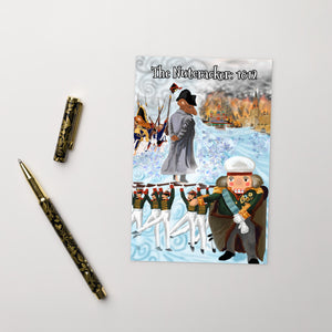 The Nutcracker 1812 Christmas Postcard - Napoleonic Impressions