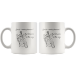 'My Bedroom Is This Way' Funny History Mug - Napoleonic Impressions