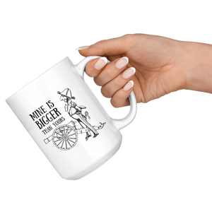 'Mine is Bigger than Yours' Funny History Mug - Napoleonic Impressions