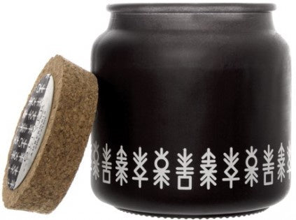 Ambergris Scented  Candle Black