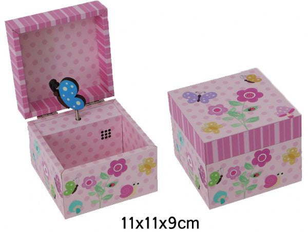 Lullaby Butterfly Music box