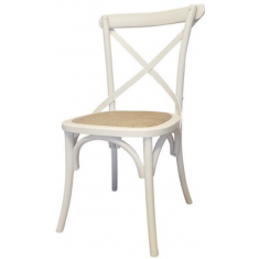 Croix Chair White - Simply Special Invercargill