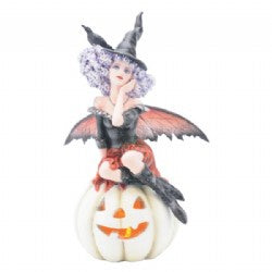 Pumpkin Witch LED Lamp - Simply Special Invercargill
