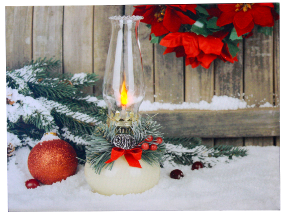 Christmas Lantern - Light up pic