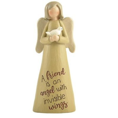 FRIEND ANGEL FIGURINE - Simply Special Invercargill