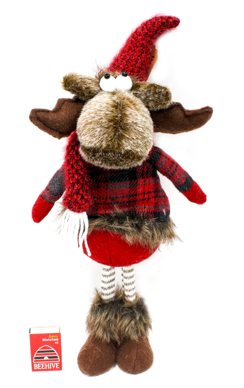 Plush Reindeer Standing Small