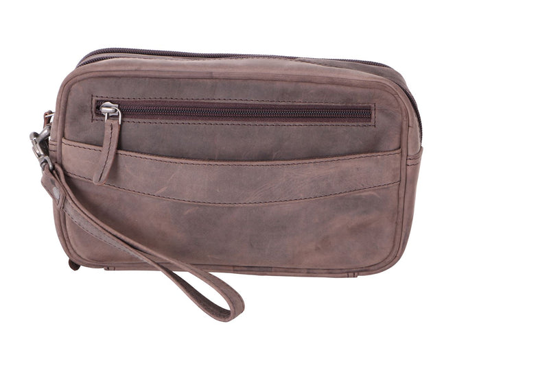 Hunter Br Leather Wrist Pouch - Simply Special Invercargill