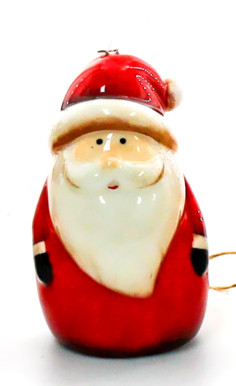Tree Hanger Red Santa