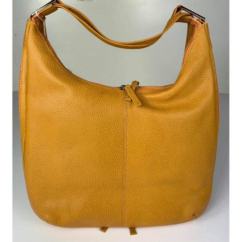 Backpack Handbag Mustard Leather - Simply Special Invercargill