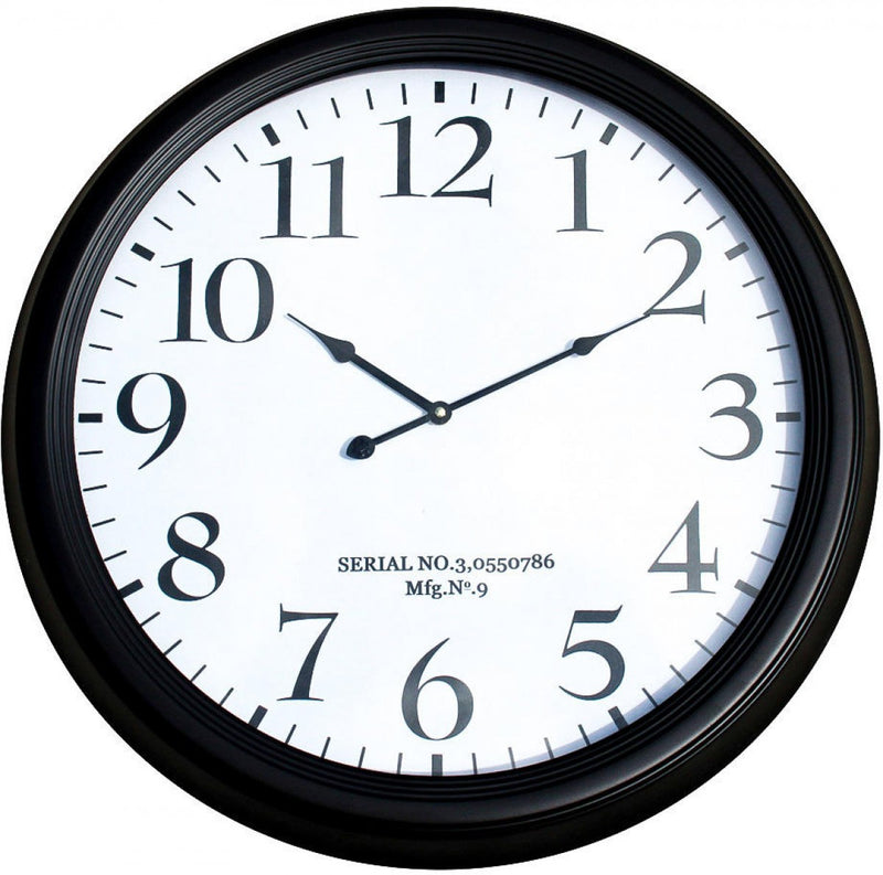 62cm Clean Numbers Clock - Simply Special Invercargill