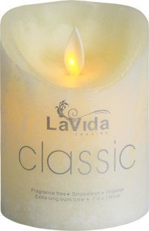 Medium Flameless Candle - Simply Special Invercargill