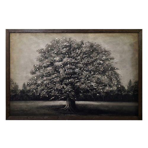 FRAMED CANVAS TREE WITH LED LIGHTS - Simply Special Invercargill