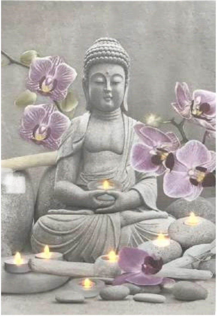 Buddha- Light Up Pic