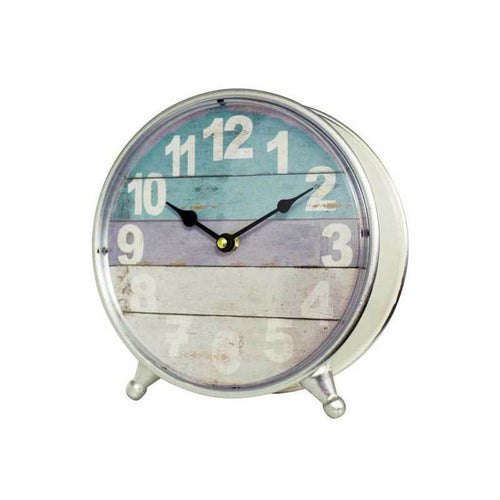 Table Clock Dipped White - Simply Special Invercargill