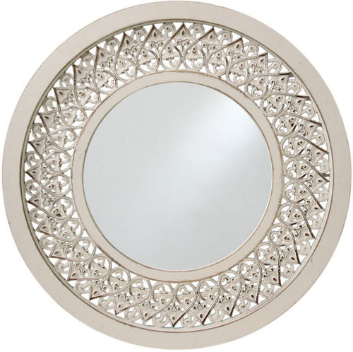 Mirror Round Lace Carved - Simply Special Invercargill