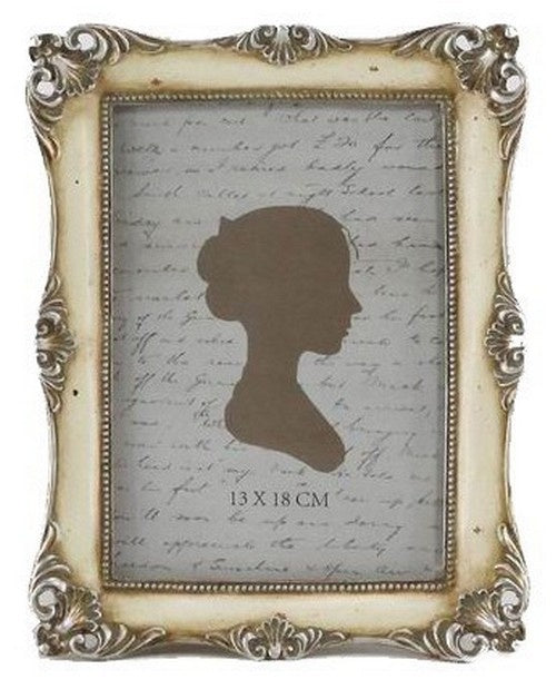 Antiqued Cream Photo Frame 13X18 - Simply Special Invercargill