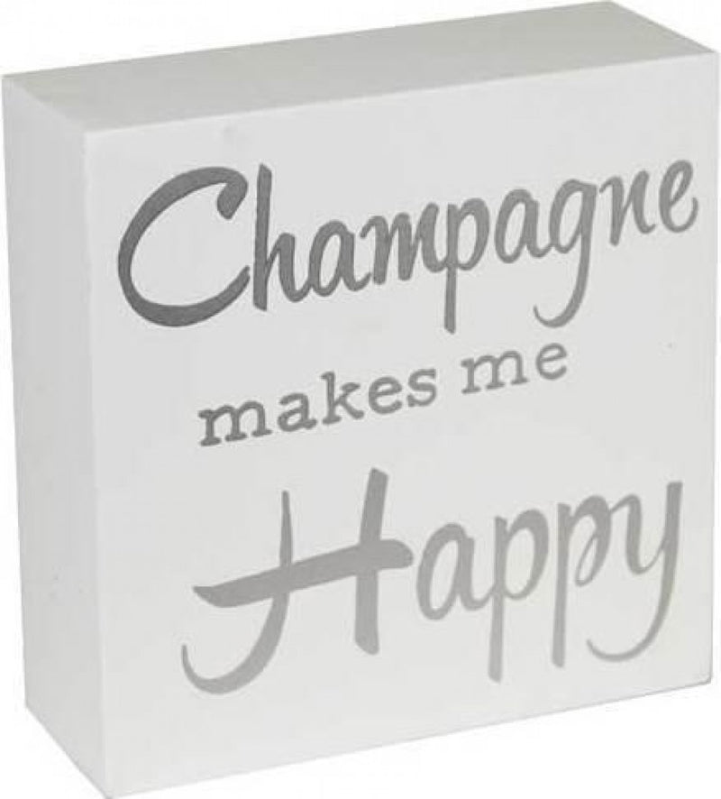 Sign Champagne Happy