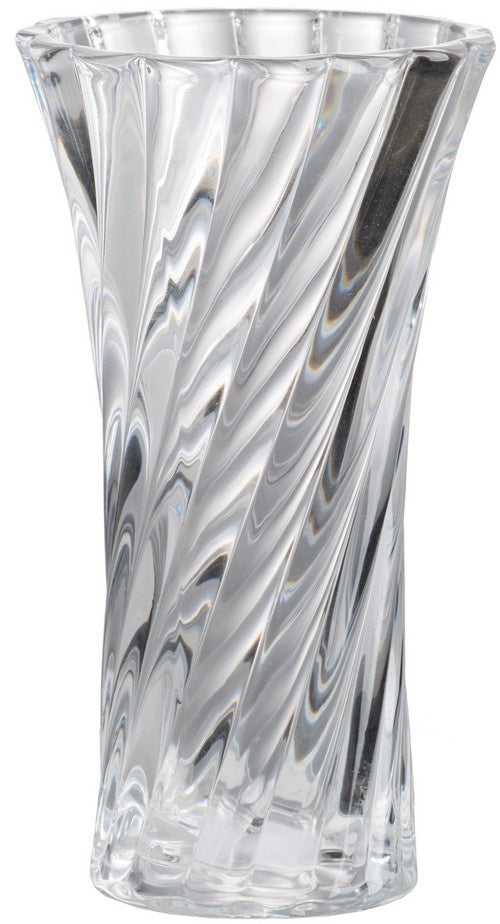 Glass Vase Twist Design