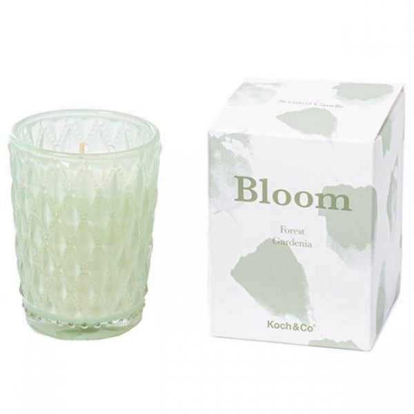BLOOM Candle Green Forest Gardenia - Tall