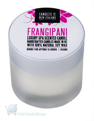 Luxury Spa Candle FRANGIPANI