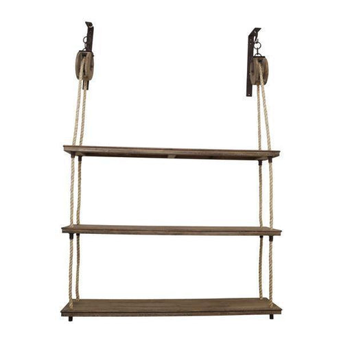 Rope Pulley Shelves - Simply Special Invercargill