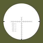 Rudolph V1 5-25x50mm RR1 FFP IR reticle