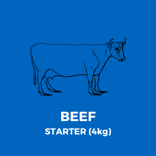BEEF ONLY MEATBOX - STARTER (4kg)