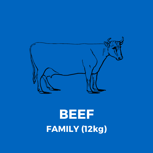 BEEF ONLY MEATBOX - FAMILY (12kg)
