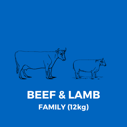 BEEF & LAMB MEATBOX - FAMILY (12kg)