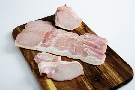 Bacon, premium rindless 2.5kg