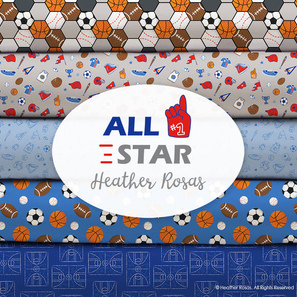 All Star Sports by Heather Rosas