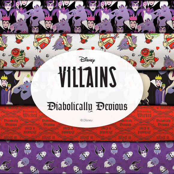 Disney Villains Diabolically Devious Collection