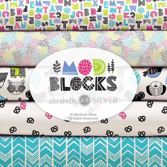 Mod Blocks by Elizabeth Silver