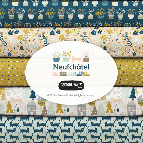 Neufchatel by CottonFlower Studio